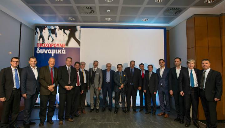 Οι βραβευθέντες πλαισιώνονται από τον Πρόεδρο και Διευθύνοντα Σύμβουλο του Ομίλου Eurolife ERB κ. Αλέξανδρο Σαρρηγεωργίου και τον Γενικό Διευθυντή Πωλήσεων κι Εκπαίδευσης κ. Νικόλαο Δελένδα.