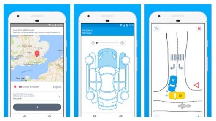Δηλώσεις φιλικού διακανονισμού τροχαίου ατυχήματος μέσω smartphone και iphone [vid]