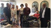 Εθελοντική αιμοδοσία στα γραφεία της Mega Brokers με την στήριξη του ΣΥΑΕ