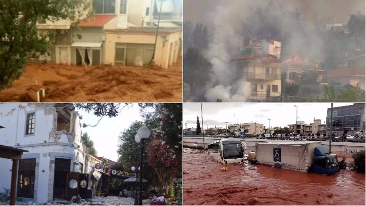 Aνοχύρωτη και ανασφάλιστη χώρα η Ελλάδα στο έλεος των φυσικών καταστροφών. Ποιος πληρώνει τις ζημιές!