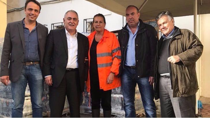 To EEA πήγε τρόφιμα στους πληγέντες από τις πλημμύρες, ο ΠΣΑΣ καλεί σε οικονομική και υλική βοήθεια