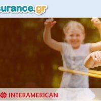 Πρόγραμμα ασφάλισης υγείας παιδιών που προβάλλεται  από την ιστοσελίδα Child Insurance