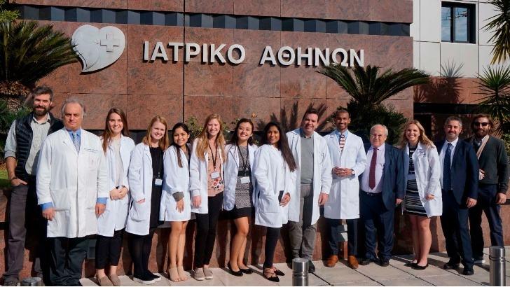 Όμιλος Ιατρικού Αθηνών: Πρωτοποριακό Εκπαιδευτικό Σεμινάριο για Pre-med φοιτητές από την Αμερική