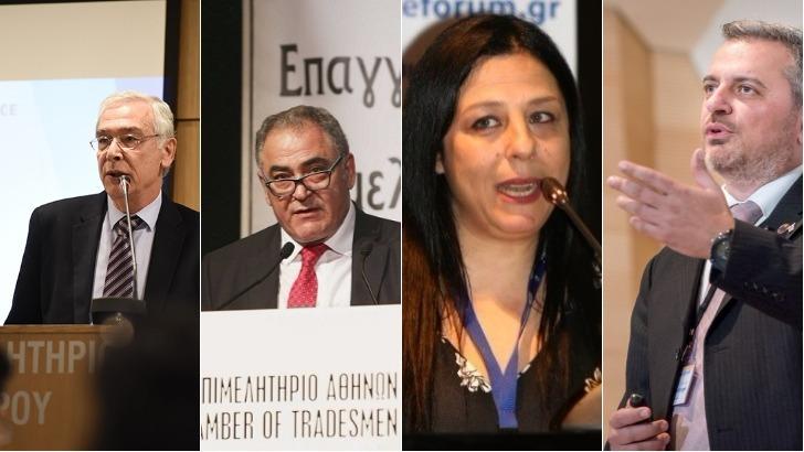 Εμ. Κάλλης (CEO D.A.S Hellas), Χατζηθεοδοσίου,Γαβαλάκης, Μ.Χαμπάκη, μεταξύ των ομιλητών στο 26ο ασφαλιστικό συνέδριο στη Χαλκίδα