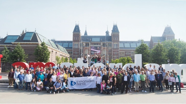 Ευρωπαϊκή Πίστη : Οι κορυφαίοι του Δικτύου Πωλήσεων στο Άμστερνταμ