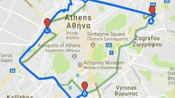 Μονά ζυγά δικά σας ! Δακτύλιος τέλος στην Αθήνα
