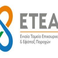 Ψηφιοποίηση του αρχείου του ΕΤΕΑΕΠ σε έξι κλάδους επικούρησης