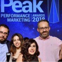 """Βραβεύσεις της Anytime στα """"Peak Performance Marketing Awards"""""""