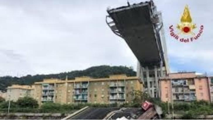 Η Swiss Re η κύρια ασφαλίστρια της διαχειρίστριας εταιρίας της γέφυρας Μοράντι  στη Γένοβα