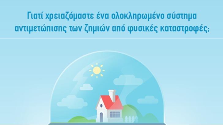 Ανασφάλιστο το 85% των κατοικιών στην Ελλάδα [Γράφημα]