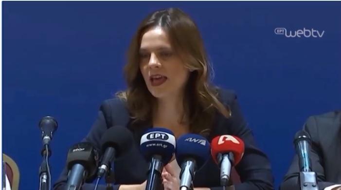 Τι είπε η Αχτσιόγλου για τις ρυθμίσεις οφειλών στα ασφαλιστικά ταμεία [Βίντεο]