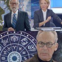 To δελτίο καιρού, ο αστρολόγος, οι ειδήσεις για τις συντάξεις και η Ευρωπαϊκή Πίστη [Βίντεο]