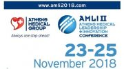 Athens Medical Leadership and Innovation Conference 2018