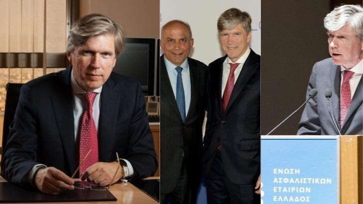 """Αλέξανδρος Σαρρηγεωργίου: Ο μάνατζερ """"παντός καιρού"""" της ασφαλιστικής αγοράς"""