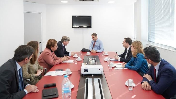 Συνάντηση του Προέδρου της Ν.Δ. κ. Κυριάκου Μητσοτάκη με την Ένωση Ασφαλιστικών Εταιριών Ελλάδος