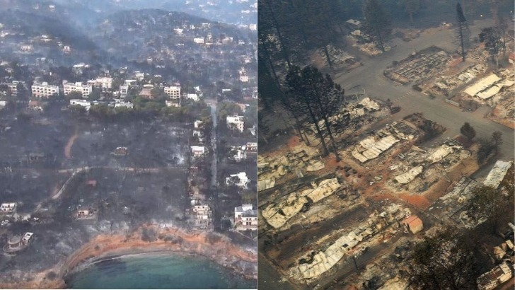 Munich Re: Σε Ελλάδα -ΗΠΑ τα περισσότερα θύματα από πυρκαγιές το 2018. Το τέταρτο πιο δαπανηρό έτος για τις ασφαλιστικές