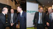 O CEO Χ. Κάτσιος και άλλα στελέχη της Groupama σε δείπνο με τον Πιερ Μοσκοβισί